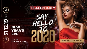 ✘ Say Hello to 2020 ✘ New Year's Eve ✘